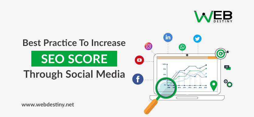 seo score through social media
