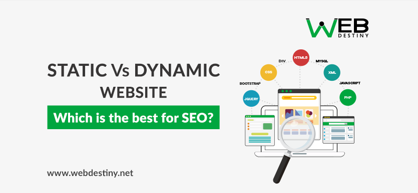 cbdc21b25fc15 Static Vs Dynamic Website   Which is the best for SEO